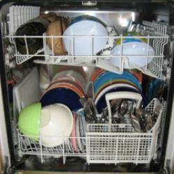 Ordnung in Haushalt - und Spülmaschine