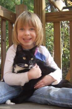Haustiere halten, fast alles über Haustiere weiß die kleine Nora schon