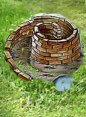 Kräutersprirale bauen