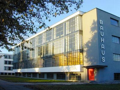Das legendäre Bauhaus Gebäude in Dessau