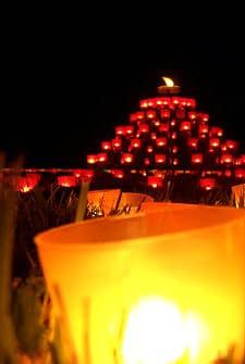 Kreative Ideen Lichterfest im Garten
