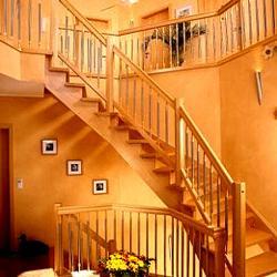 Gewendelte Treppe als schöner Blickfang