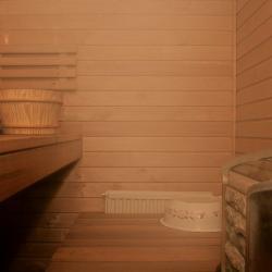 Sauna - Sauna Bank, Ofen, Zuber