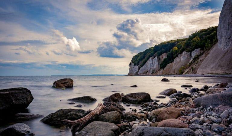 Wandern in Deutschland - Insel Rügen an der Ostsee