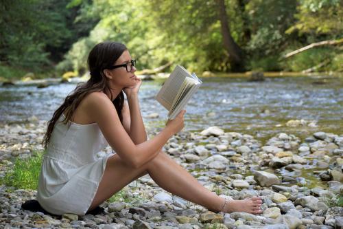 Zum Lesen braucht man helles Licht.