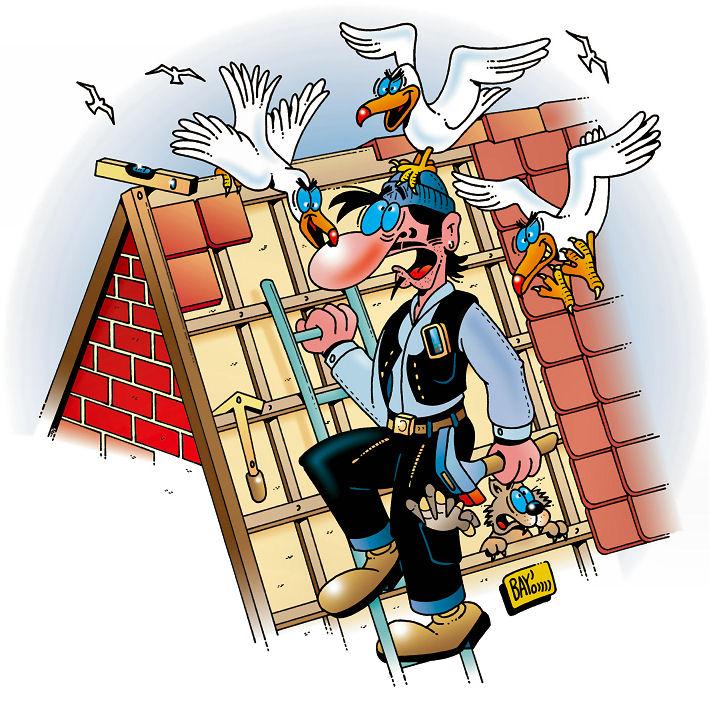 Das Dach erneuern - dem Dachdecker zuliebe besser nicht im Winter