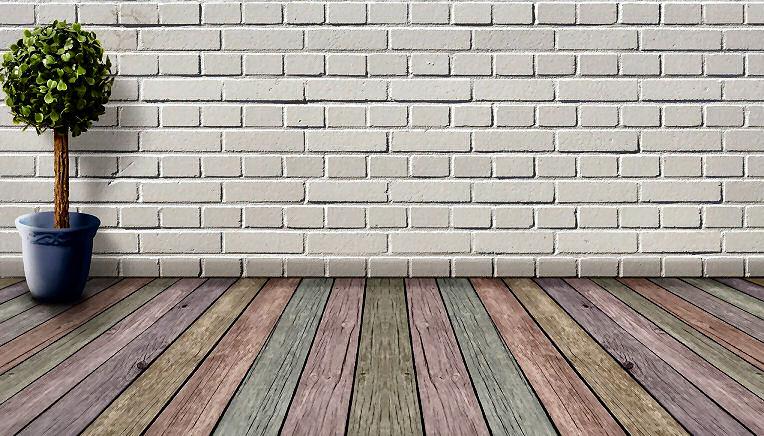 Dielen aus Holz oder auch verschieden farbigen Hölzern schaffen ein angenehmes Klima zu Hause.
